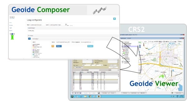 Geoide Composer en Geoide Viewer