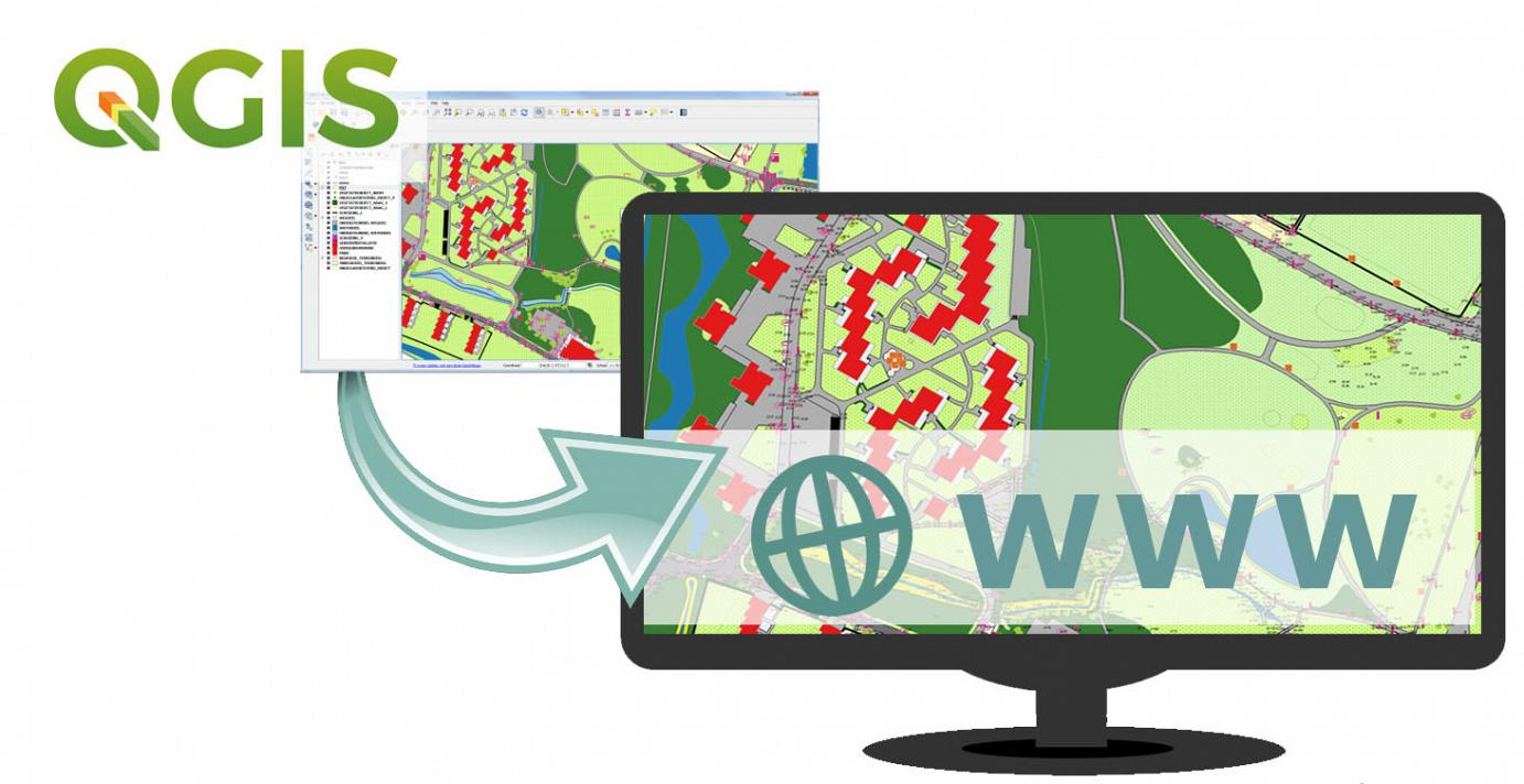 QGIS projecten via het Web delen
